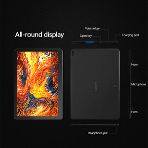 """Image 4 - Lenovo Tablet 10,1 """"HD Screen 2GB 16GB Dual Kamera Computer Tablet Dual Stereo Dolby Sound Wirkung 4850mAh Android 9,0 Wi Fi"""