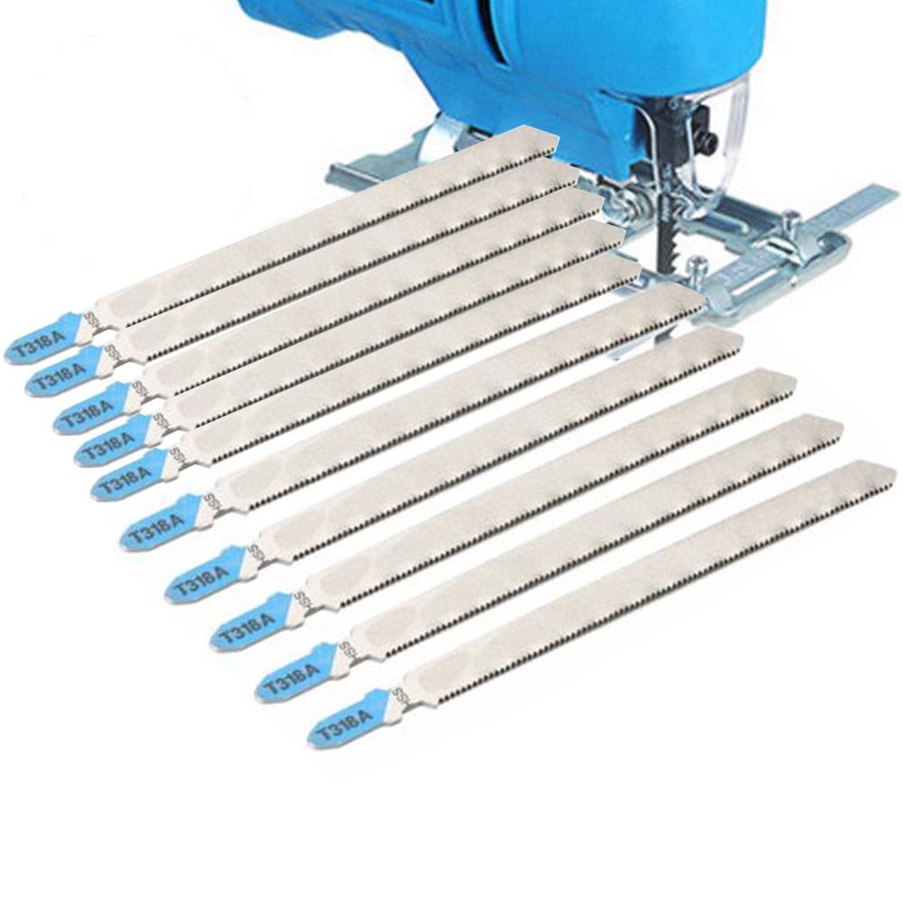 5/10pcs T-Shank Jigsaw Blades 132mm Metal Blade Jigsaw Cutter Tool For Bosch T318A
