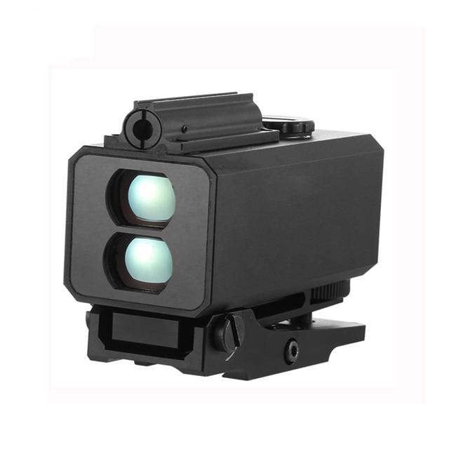 Mini laser range finder mount on rifle rangefinder for outdoor hunting shooting απόσταση ταχύτητα μετρητής σε πραγματικό χρόνο 700m