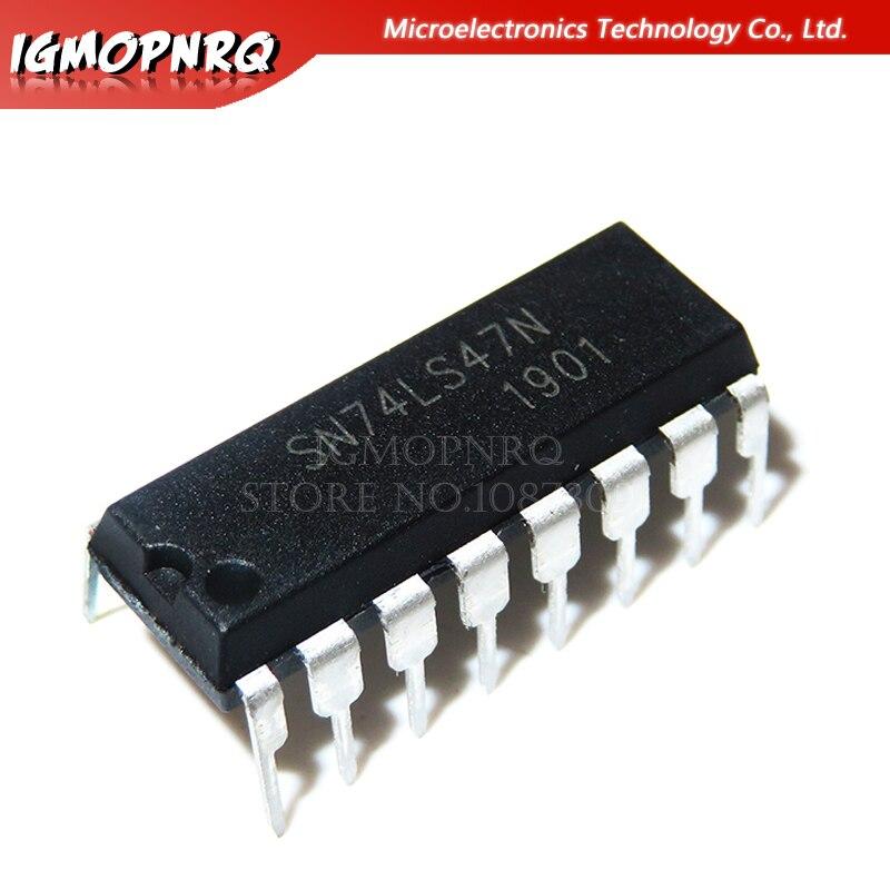 10pcs SN74LS47N SN74LS47 74LS47N 74LS47 DIP New Original