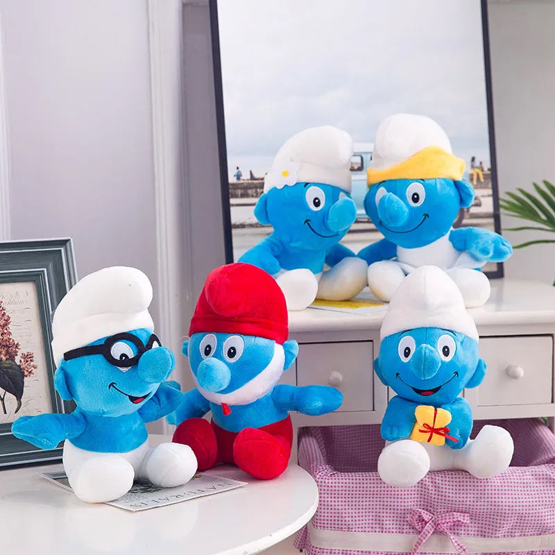 בובות דרדסים קטנות וחמודות לילדים במגוון דמויות