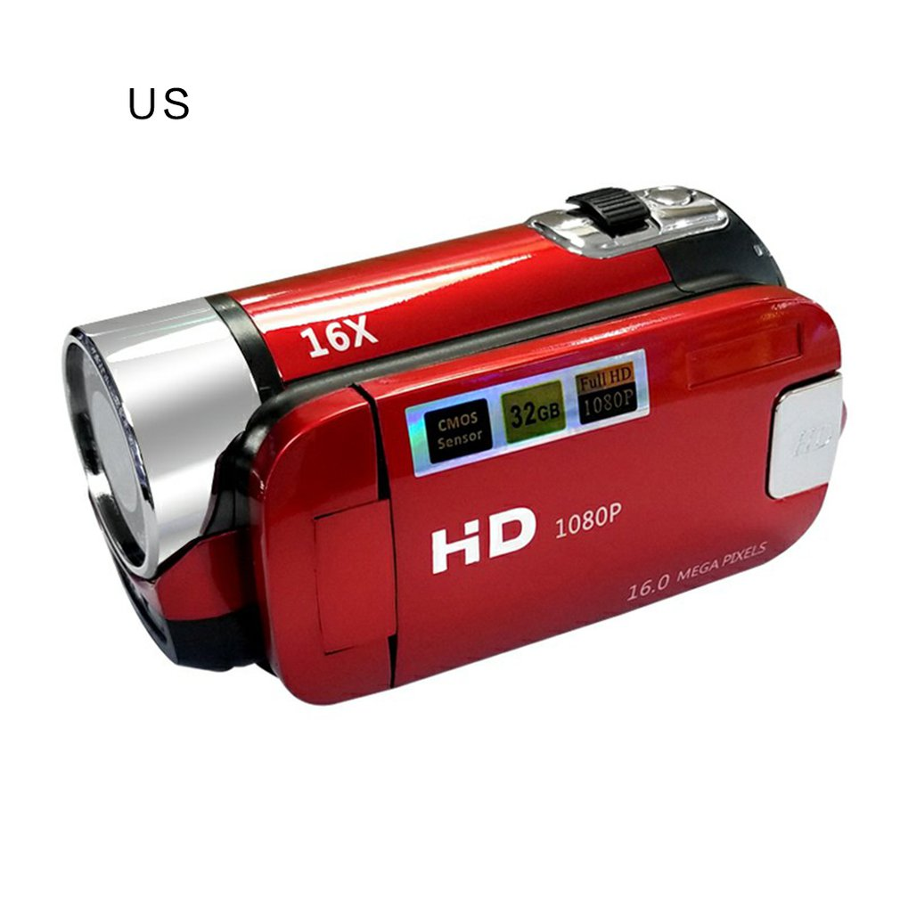 16 million Pixel Digital Camera Handheld Shoot Digital Camera Video Camcorder Digital DV Support TV Output HD