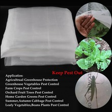 5m/lot 60Mesh Farm Greenhouse Nylon Garden Netting Crops Insect Pest Control Vegetable Protect Net Reject Mesh