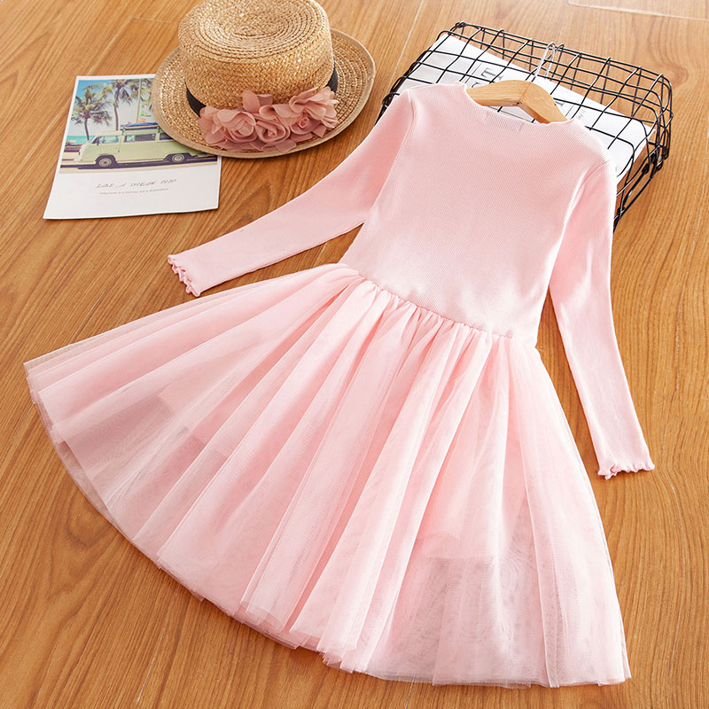 H388d8539d81140f58a00ca86c94ff1ddp Red Kids Dresses For Girls Flower Lace Tulle Dress Wedding Little Girl Ceremony Party Birthday Dress Children Autumn Clothing