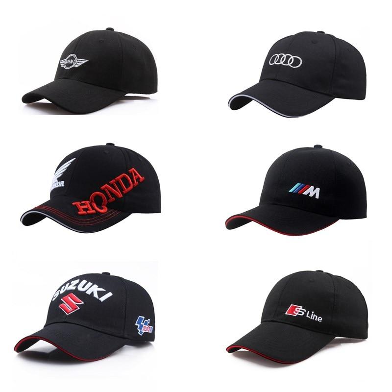 All Style Car Cap Men Fashion Cotton Car Logo M Performance Baseball Cap Hat For Subaru M3 M5 Audi Volvo Lexus Toyota