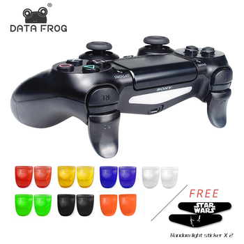 1 Pcs Bent L2 R2 Triggers Extender Buttons Kit For PlayStation 4 PS4 S/PS4 Slim/PS4 Pro Game Controller Accessories