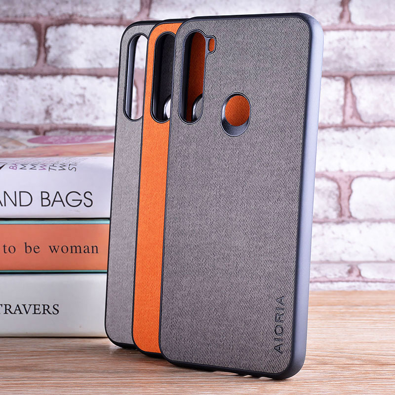 Case For Xiaomi Redmi K30 5G 8 8A 7 7A 6 6A 5 Plus 5A 4X GO S2 Note 8T 8 Pro 7 Pro 6 Pro 5 Pro 4 4X Textile Fabric Design Case
