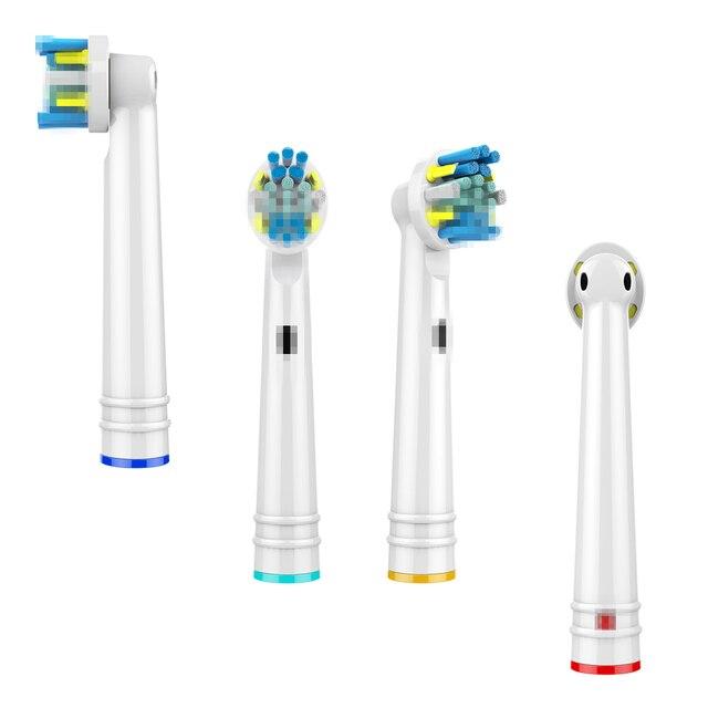 Großhandel 20 Pcs Zahnbürste Düsen Floss Action Ersatz Zahnbürste Kopf Für Braun Oral B Pinsel Köpfe