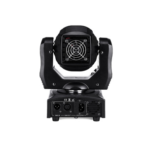 Image 3 - 2pcs LED Spot 60W Moving Head Light Gobo/Pattern Rotation Manual Focus With DMX Controller For Projector Dj Disco Stage Lighting
