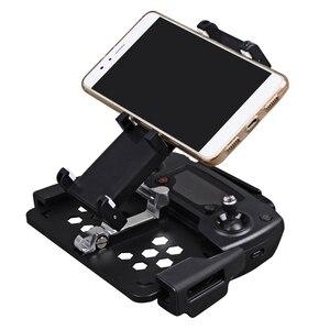 Image 2 - Mavic hava 2 katlanabilir Tablet telefon kelepçe Mavic PRO 2 uzaktan kumanda tutucu DJI Spark için monitör braketi Mavic Mini aksesuarları