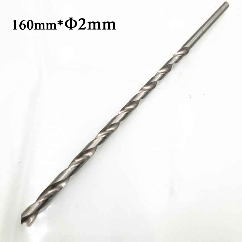 2-6mm Length160/200/250/300mm Extra Long HSS Drill Bit Set Holesaw Hole Saw Cutter Drilling Kit For Wood Steel Metal Alloy