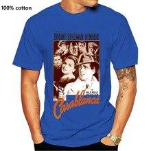 Casablanca film afiş erkek gotik T-Shirt Geek Tshirt gotik T-Shirt spor tişörtleri Trend 2020 Hgjgoz