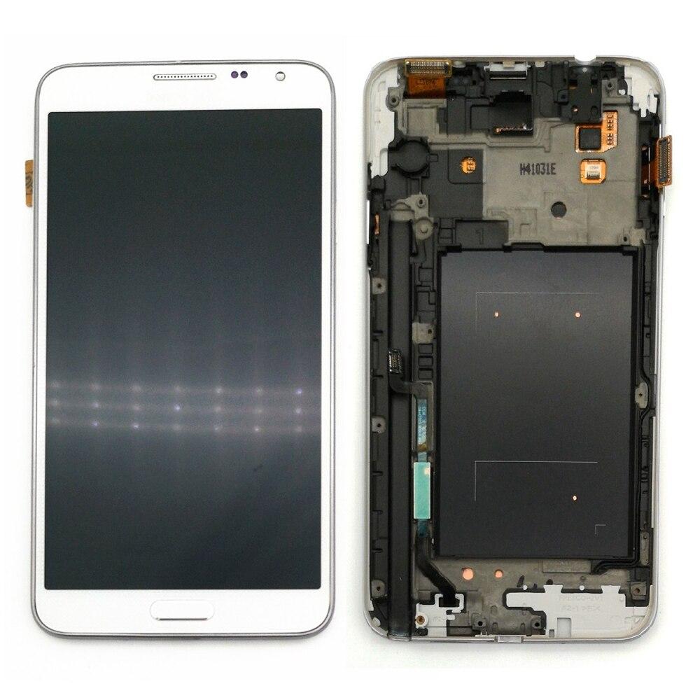 """5.5""""супер AMOLED ЖК-дисплей для Samsung Galaxy Примечание 3 Нео мини N7505 ЖК-дисплей с сенсорным экраном дигитайзер Ассамблеи"""