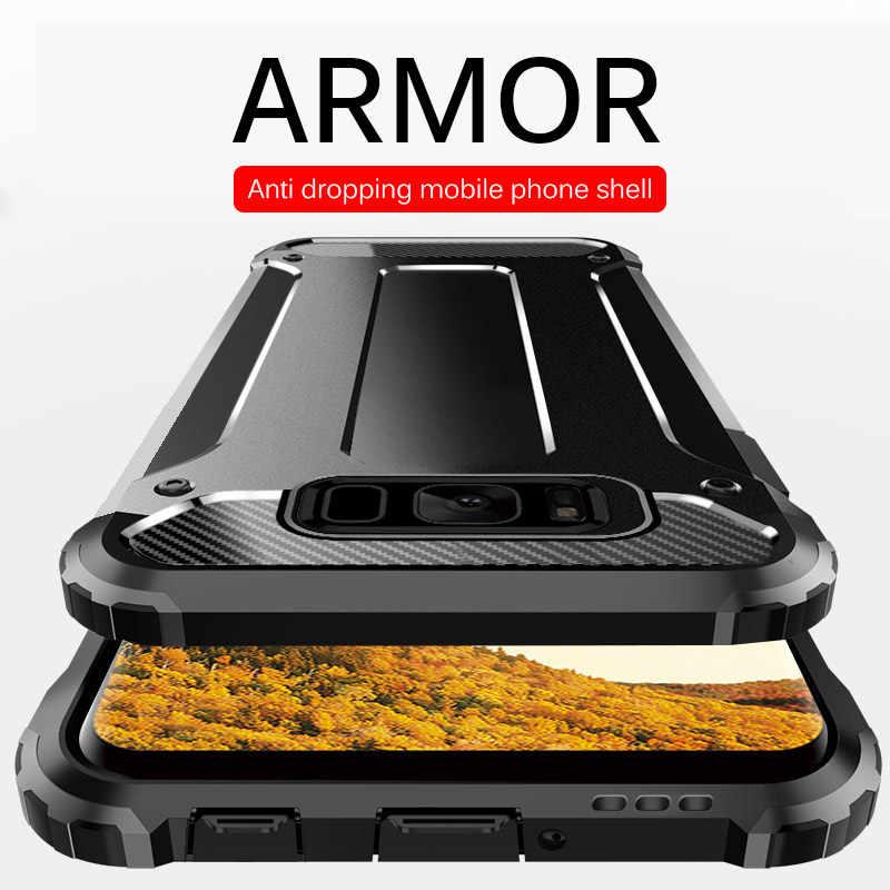 Роскошный противоударный чехол-бампер для samsung Galaxy Note 10 Plus S9 S8 S10 силиконовый чехол S8 S9 S10e Plus Полный Чехол Мягкий чехол