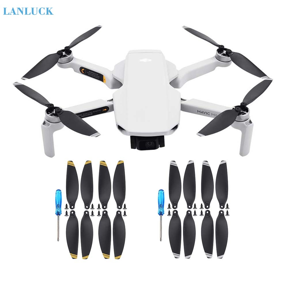 8/16 Pcs Low-Noise Propellers For Mavic Mini CW CCW 4726F Replacement Blades Props Lightweight Foldable For DJI Mavic Mini RC