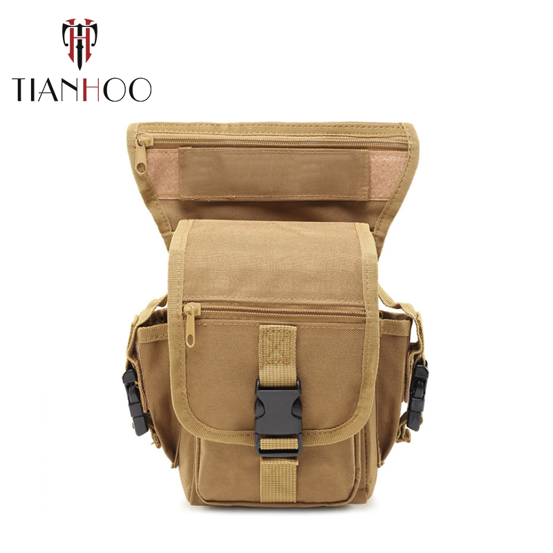 TIANHOO Outdoor Tactical Multifunctional Waist Pack Tactical Outdoor Riding Camouflage Waist Bag