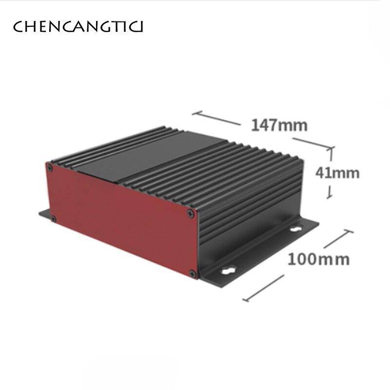 1 комплект, Интегрированный алюминиевый корпус из алюминиевого сплава, Внешний чехол для DIY, блок питания 147*41*100/150/155