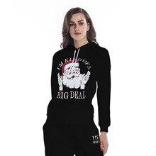 Графический свитер на шнурке с длинным рукавом женский спортивный свитер Свободная Толстовка с капюшоном плюс бархатная одежда для девочек