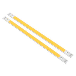Cob-Led-Strip-Lights 12-14V Lamp Warm 2pcs/Lot Bulb Lumiere DIY White 10W Suitable-For