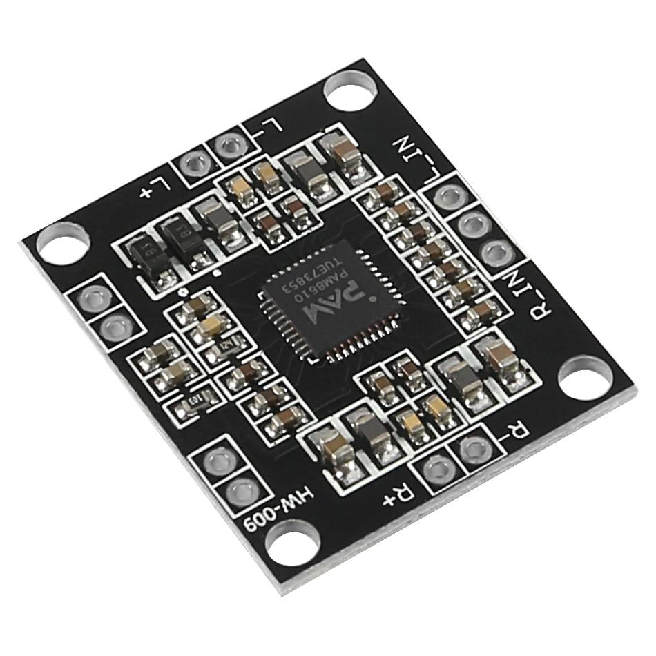 PAM8610 Digital Power Amplifier Board 2 X15w Dual Channel Stereo Mini Class D Power Amplifier Board