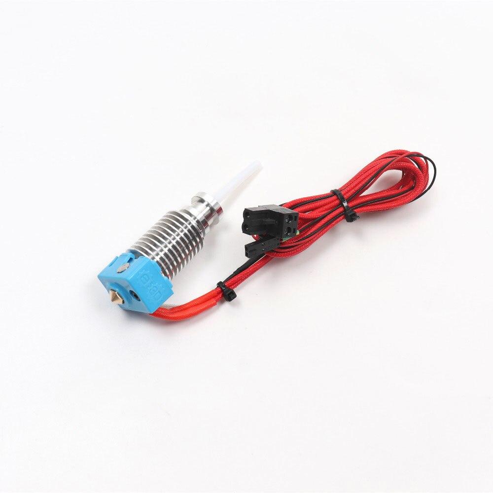 Prusa i3 mk3 mk2s/mk2.5 hotend kit com meia de silicone prusa i3 mk3 bico final quente aquecida bloco do dissipador de calor garganta termistor