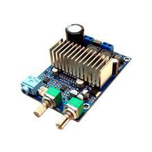تيار مستمر 12 إلى 24 فولت TPA3116 100 واط مضخم الصوت ميجا باس مكبر كهربائي رقمي مجلس باس الناتج باس تردد التقسيم