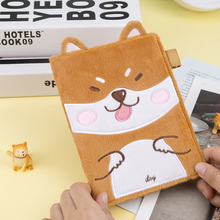 Hello Happy Dog Cartoon Cloth Fitted Journal Cover A6 Suit For Standard Fitted Paper Book Free Shipping цена и фото