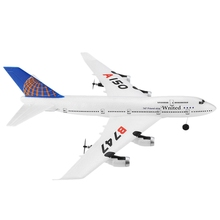 Wltoys Rc Fixed-Wing Xk A150 Airbus B747 Model Plane 3Ch Epp 2.4G Rc Remote Control Airplane Short Charging Time Rtf Glider Toy цена