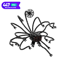 Moc Technical Sentinelibying Black Jellyfish Robot Classic Movie Series Robot Building Blocks Assembled Model Children Toy Gifts