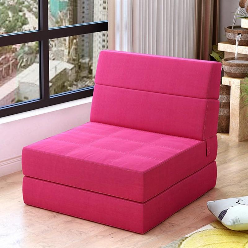 Creative Single Lazy Sofa Single Folding Bed Recliner Personality Cute Tatami Sofa European Modern Sofa