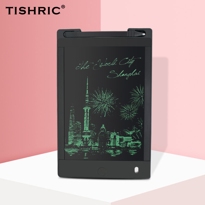 TISHRIC Digital Graphics Tablet For Drawing Electronic Erasable Drawing Tablet/Pad/Board For Kids LCD Writing Tablet 8.5 Inch