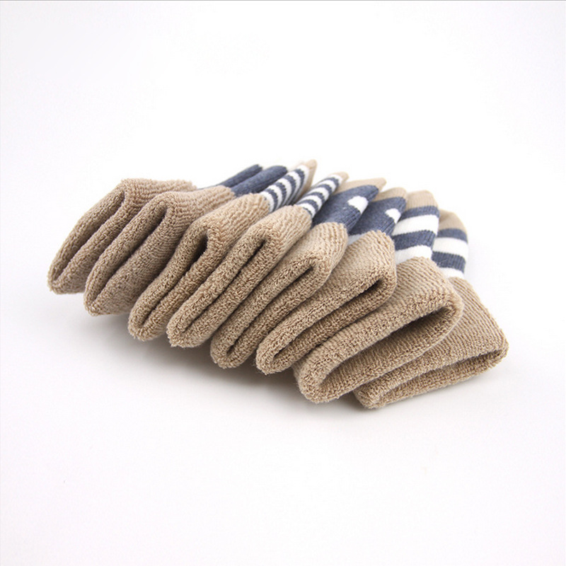 Autumn & Winter Baby Thick Looped Pile Relent Cotton 0-1-3-Year-Old Infants Socks CHILDREN'S Socks