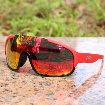 POC Polarized Cycling Glasses Crave Outdoor Sports Men And Women Self-propelled Mountain Bike Sand-proof Wind Goggles Fishing
