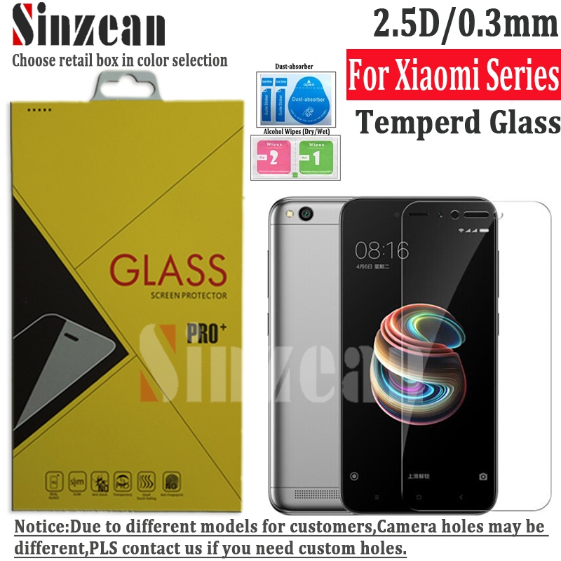 100pcs for Xiaomi Redmi Note 7 Pro Note 6 Pro Tempered glass screen protector For Redmi