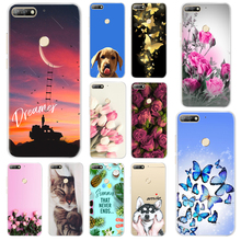 Soft TPU Case For Huawei Honor 7A Pro 5.7 Silicone Back Cover Russian Phone 5.45