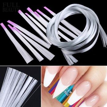Profesjonalny jedwab z włókna szklanego forma do paznokci porady akrylowe rozszerzenie żel do paznokci akcesoria włókno szklane przedłużenie paznokci narzędzie papierowe CH952-1
