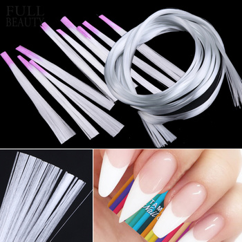 Profissional de fibra de vidro prego forma acrílico dicas extensão gel prego acessório de fibra de vidro ferramenta de papel extensão do prego CH952-1