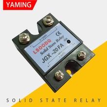 цена на Solid State Relay JGX-20FA Four Screws Terminals DC Control DC Single-phase 20A 60V 110V