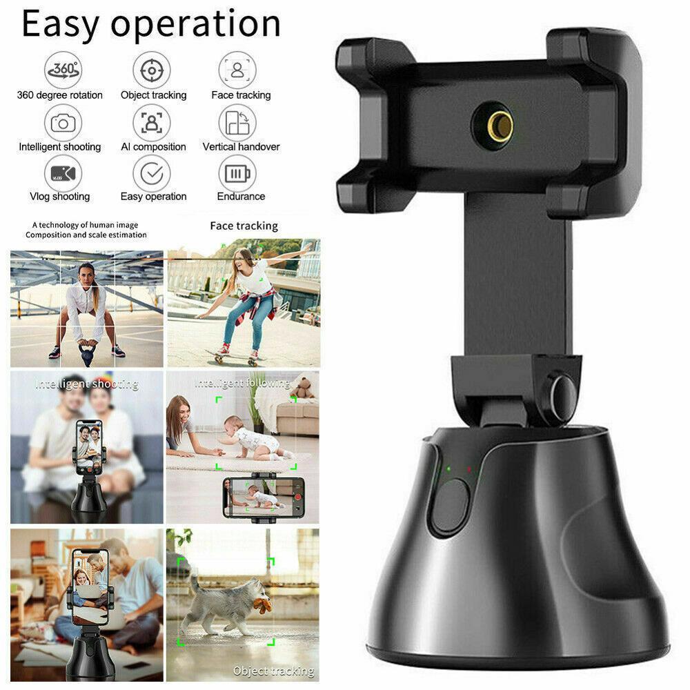 360 ° Вращение лица слежения Смарт AI Gimbal персональный робот оператор|Штативы|   | АлиЭкспресс