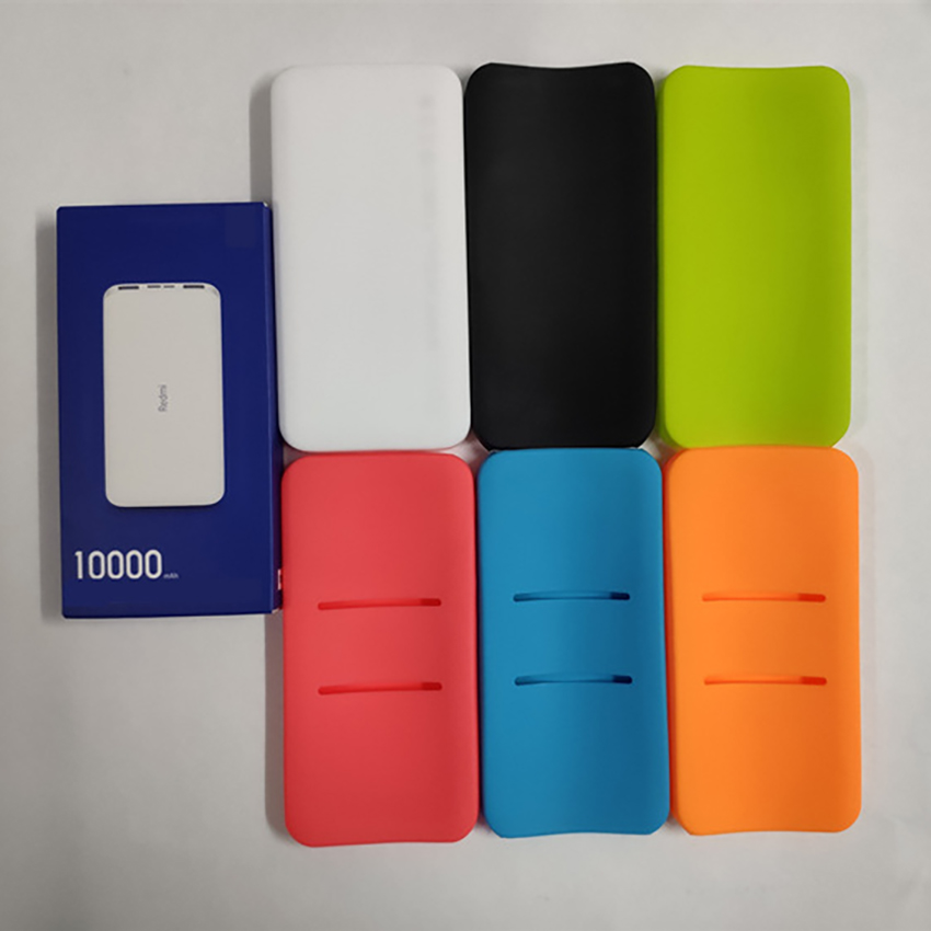 Anti-drop Silicone Protective Case For Redmi 10000mAh Power Bank Full Protection Cover Phones Power Bank  Accessories