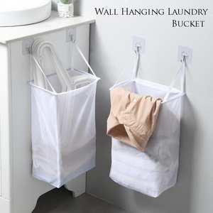 Storage-Bag Underwear-Socks Bucket-Clothing Laundry-Organizer Wall-Hanging Bathroom Foldable