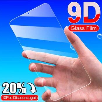 Перейти на Алиэкспресс и купить 9D закаленное стекло для Xiaomi Redmi 10X 4G 5G 8 8A K30 K30i Защитная пленка для экрана на Redmi Note 8 9 Pro Max 8T 9S