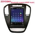 ZOYOSKII Android 8 1 9 0 os 10 4 дюймов Автомобильный gps мультимедийный радио bluetooth навигационный плеер для Opel insignia 2009-2013