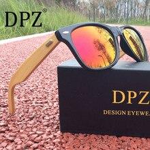 NEW 2020 DPZ Hot Men Bamboo aviation Sunglasses UV400 Wood