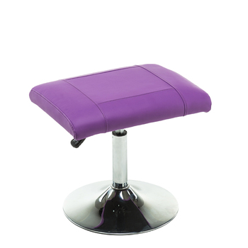 New Massage Stool  Height Adjustable Chair High Quality Ottoman For Footrest Durable PU Leather Soft and comfortable