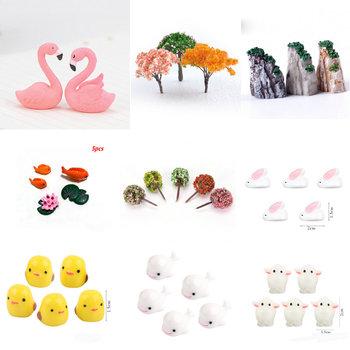Flaming Pig drzewko bonsai mięsiste ozdoby mech mikropejzaż dekoracyjne bajki miniaturowe ogrodowe bombka na prezent dekoracji tanie i dobre opinie lrdoelk CN (pochodzenie) Zwierząt wykonane ze sztucznego tworzywa Z żywicy Micro Landscaping Garden Home Decor Flamingo