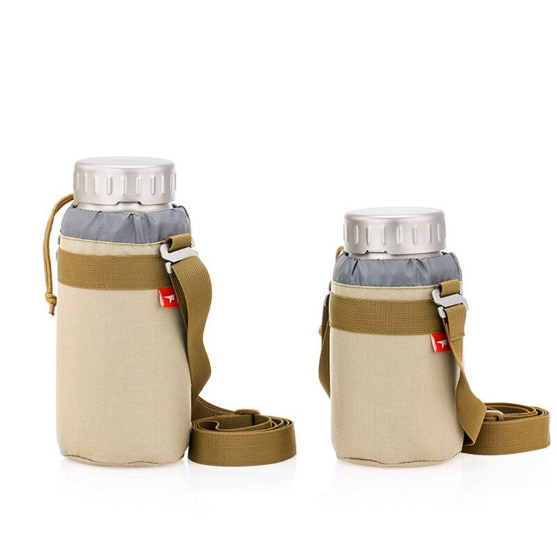 Кит Рождественский подарок 900 мл 1200 мл титановая водяная бутылочка с широким горлом чайные принадлежности наружная Спортивная бутылка сок лимонный переносной чайник