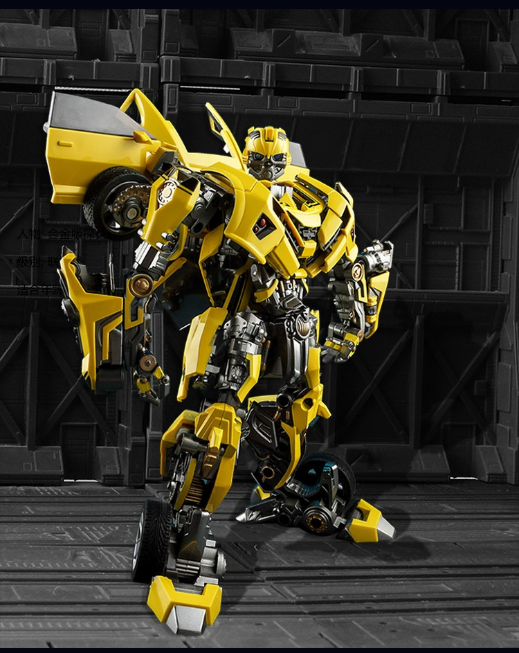 Hot Sale Bumblebee Transformer Series Robot Modeling ABS Plastic+alloy Automobile Robot Anime Character Bumblebee Cool Toy