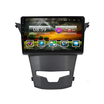For SsangYong Korando 2014 -2016 9 inch Android 8.1 2 Din Car Multimedia Stereo Player Navigation GPS WIFI Radio image