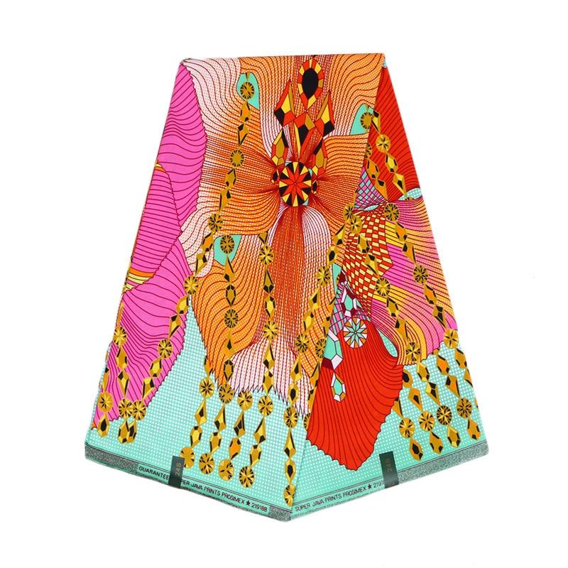 New African Fabric Wax Print Cotton Print Fabric New Fabric Dress Clothes Material Ankara Wax Africain Batik Fabric Ghana